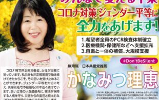 千葉県知事選挙明るい会からかなみつ理恵さん 立候補を表明